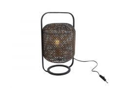 "Tafellamp ""Monica"" L Zwart Metaal 24,5X23X42Cm"