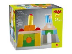 Haba Bouwstenen- Basispakket, Gekleurd (28 Delen)