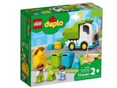 Duplo 10945 Vuilniswagen En Recycling