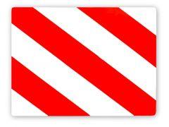 Markering Uitstekende Lasten Rechts 30X40Cm