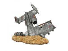 Vliegtuigwrak Woestijn 19,5X12X15,3Cm