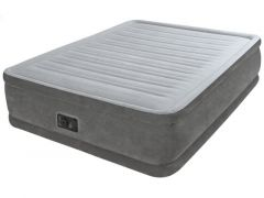 Intex 64414Np Queen Comfort-Plush Airbed With Fiber-Tech Bip