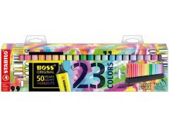Stabilo Boss Original Pastel Deskset 23-Delig