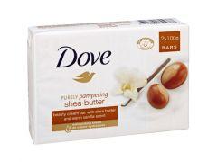 Dove Zeep 2X100Gr Shea Butter