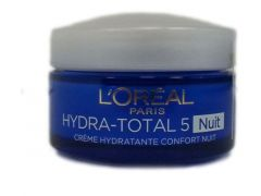 L'Oreal Paris Nachtcreme 50Ml Hydra Total 5