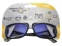 Veiligheidsbril Tech 3-In-1 Multi 200