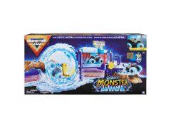 Monster Jam Power Wash Playset