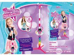 Microfoon Met Standaard En Tel Houder