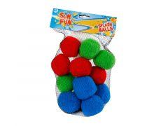 Sun Fun 12 Waterballen Splash Balls 3 Kl.