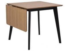 Roxby Dining Table Oak Veneer 80/120X80X76Cm