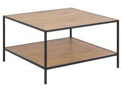 Seaford Coffee Table Wild Oak 80X80X45Cm
