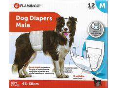 Hondenluiers Dipy Mannelijk M 46-60Cm 12St