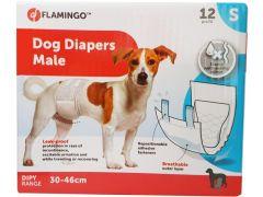Hondenluiers Dipy Mannelijk S 30-46Cm 12St