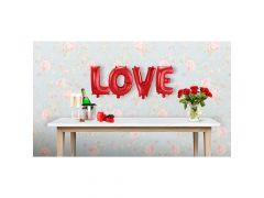 Folie Ballon Kit Love 36Cm