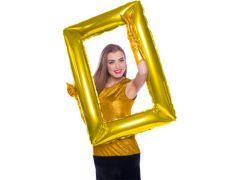 Folie Ballon Frame Gold 85X60Cm