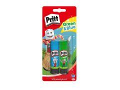 Pritt Stick 2X20G Blue & Green