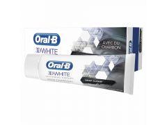 Oral B Tandpasta 3D White Charcoal 75Ml