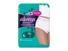 Always Discreet Pants 6 Drops L 8St
