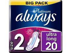 Always Platinum Long Plus Vp 20St