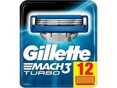 Gillette Promopack Mach3 Turbo H+ 12St