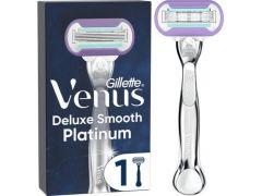 Venus Razor Deluxe Smooth Platinum 1St