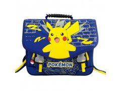 Pokemon Schooltas 38Cm 2 Compartimenten En Voorzakje 38X34X16Cm