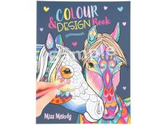 Miss Melody Colour & Design Book