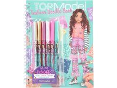 Topmodel Fashion Doodle Boek Met Gelpennen