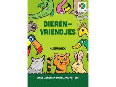 Kleurboek Dierenvriendjes