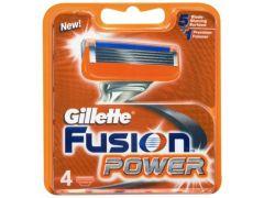 Gillette Fusion Power Mesjes 4St