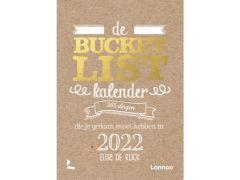 De Bucketlist Scheurkalender 2022