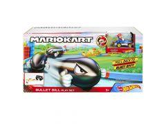 Hot Wheels Mario Bullit Bill Playset