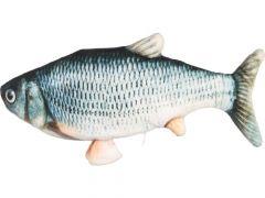 Ps Flounder Bewegende Vis Grijs  29Cm