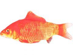 Ps Flounder Bewegende Vis Oranje  Grijs 30Cm