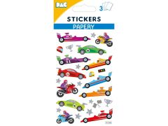 Sticker 145 098 Race Car