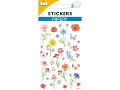 Sticker 145 114 Veldbloemen
