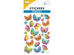 Sticker 145 102 Vlinders