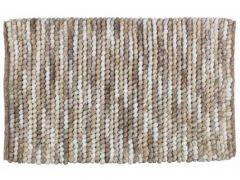 Wenko Badmat Urdu 60X90Cm - 80% Polyester 20% Katoen Taupe