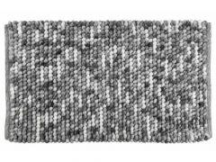 Wenko Badmat Urdu 60X90Cm - 80% Polyester 20% Katoen Grijs