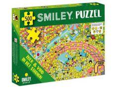 Smiley Puzzel Zoek En Vind In Het Stadion