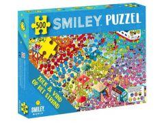 Smiley Puzzel Zoek En Vind Op Het Strand