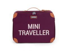 Childhome Kids Reiskoffer Mini Traveller Aubergine