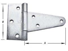T-Scharnieren Zwaar Verz. (type 1)
