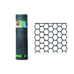 Hexanet Verzinkt 25-0.80 H.75Cm L 50M