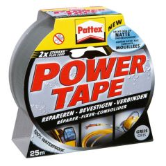 Pattex Power Tape 50Mmx25M Grijs