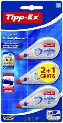 Tipp-Ex Mini Pocket Mouse 2+1 St
