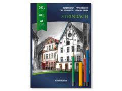 Tekenblok Steinbach A4 200Gr
