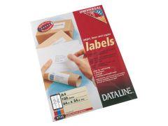Dt Uni.Las.Labels 64.0X34.0 100Bl