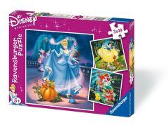 4 Puzzels van Disney prinses
