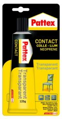 Pattex TRANSPARENT 125gr